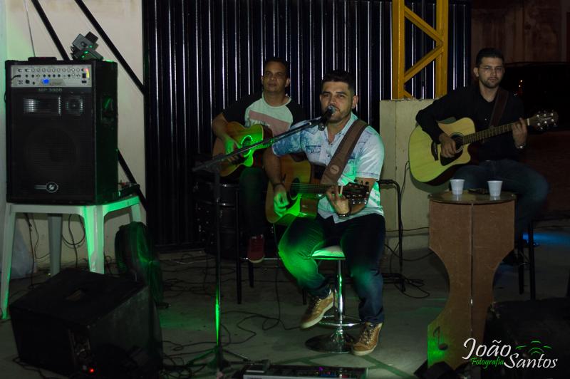 Apresentação do cantor Vagner Fernando – Foto: João Santos