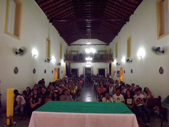 Missa na Matriz da Cidade - Foto Girleno Veras