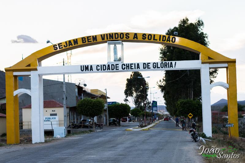 Portal da cidade recebe novas cores – Foto: João Santos