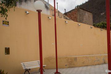 Praça José Barros Sobrinho (Praça de alimentação) em Solidão