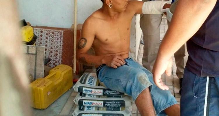 O acusado agride familiares em Solidão, apertando o pescoço da irmã e uma lesão no braço do irmão – Imagem Ilustrativa - Foto: Reprodução