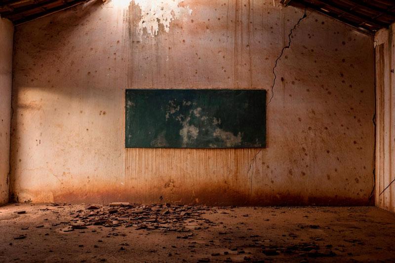 Grupo abandonado foi um dos registros preferidos do Fotógrafo - Foto: Tiago Calazans