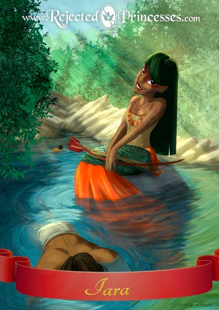 Tem até uma princesinha brasileira – Foto: Reprodução