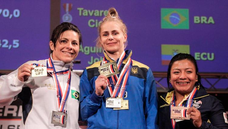 Cícera Tavares, Soloviova Larysa e Johanna Aguinaga – Foto: IPF/ S1 Notícias