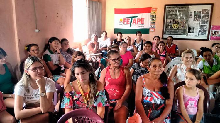 Palestra na comunidade dos Barreiros – Foto: Divulgação