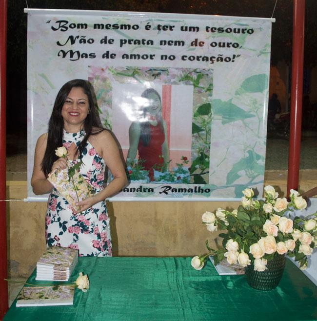 A EREM homenageou a poeta Alecssandra Ramalho – Foto: João Santos