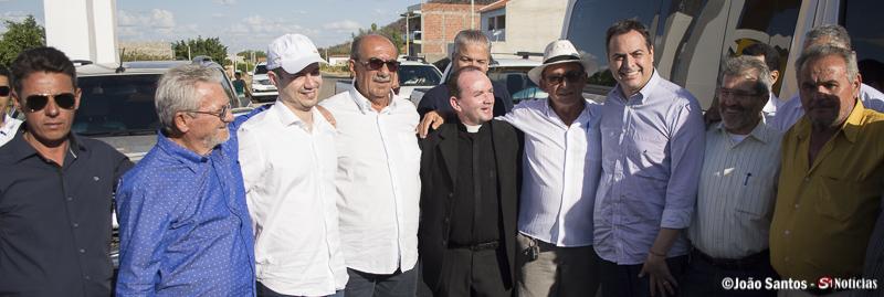 Prefeito Djalma Alves Vereadores, Pe. Genildo, deputados e o governador