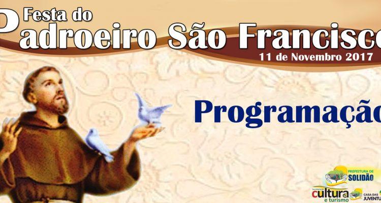 Programação da Festa do Povoado São Francisco 2017