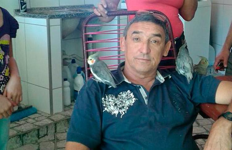 Ex-locutor solidanense, Paulo Cezar, de 58 anos – Foto: Arquivo pessoal/ S1 Noícias