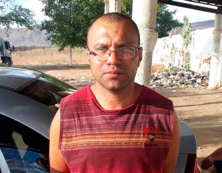 Gilmar de Lima Silva confessou ter asfixiando Lilianecom uma corda em Afogados da Ingazeira – Foto: Reprodução