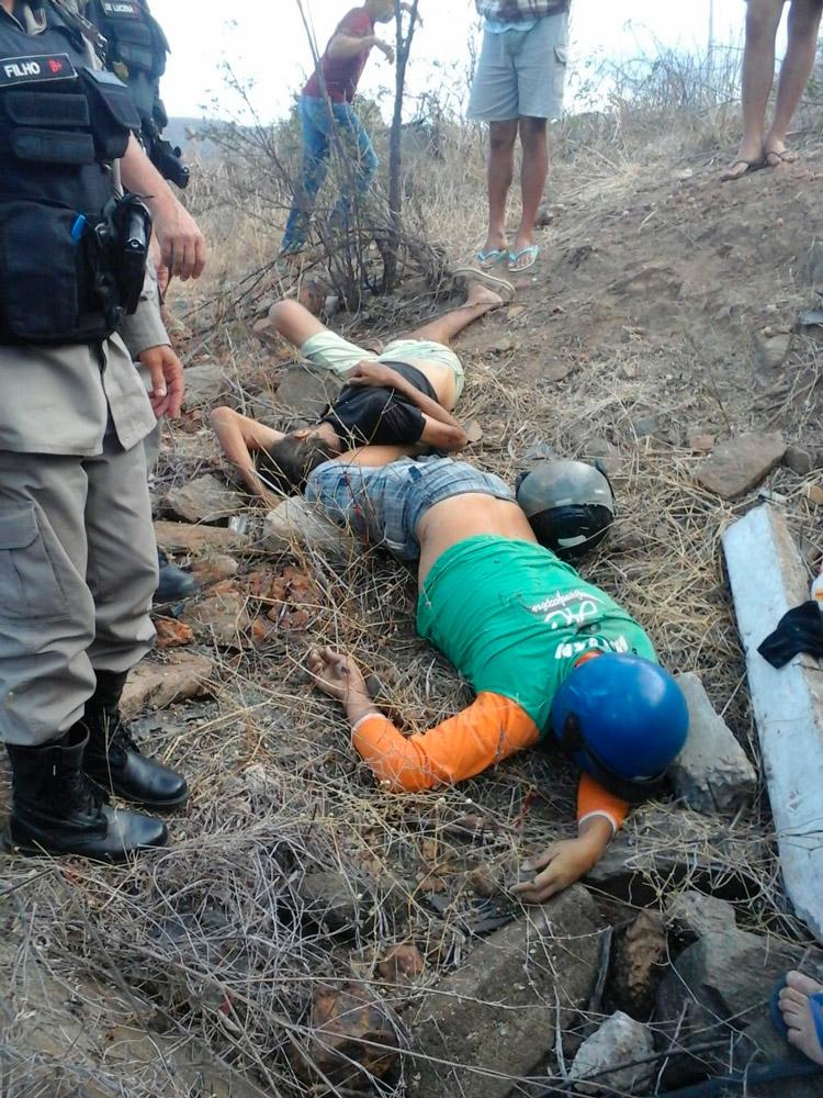 """""""A Curva da Morte"""" é um trecho perigoso com registro de vários acidentes – Imagem enviada pelo WhatsApp – Foto: Reprodução"""
