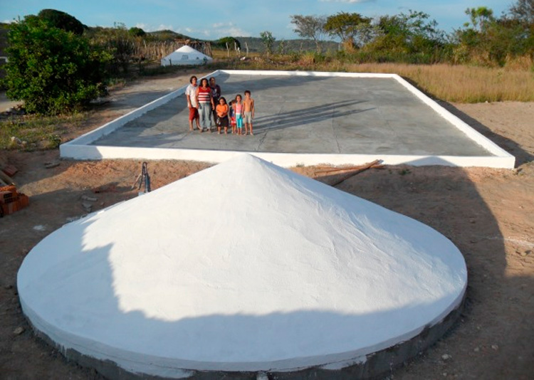 As cisternas calçadão serão implantadas em 4 polos; Barra, São Francisco, Jardim, Pelo Sinal e sítios vizinhos – Imagem Ilustrativa – Foto: Reprodução