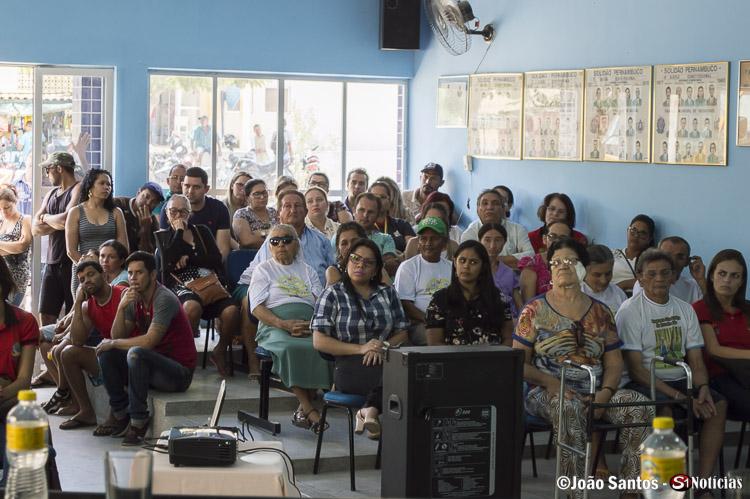 Solidaneses na câmara de vereadores durante a audiência