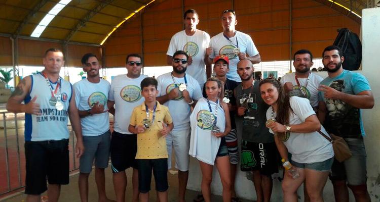 Competidores da equipe Chykao Team de Afogados da Ingazeira do Jiu-jitsu Nova União – Foto: Arquivo Pessoal/ S1 Notícias