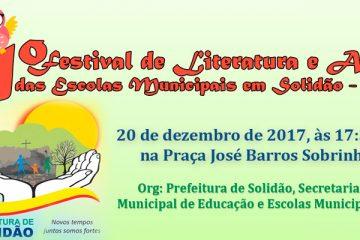 Convite para o 1º Festival de Literatura e Artes - Foto: Divulgação/S1Noticias
