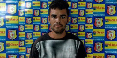 Acusado de matar idoso a pauladas em Tabira é preso pela Guarda Municipal