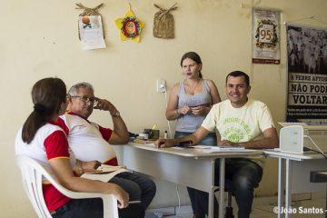 O atendimento aconteceu na Secretaria Municipal de Agricultura de Solidão - PE