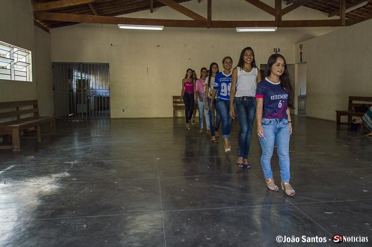 Último ensaio da candidatas a Miss Solidão 2018