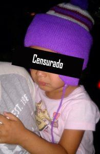 da S.M, de 3 anos– Foto: Reprodução