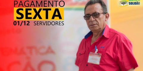 Governo Djalma Alves paga servidores de Solidão