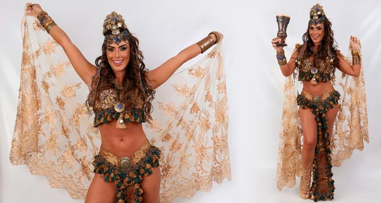 Nicole Bahls atuará na Paixão de Cristo de Nova Jerusalém