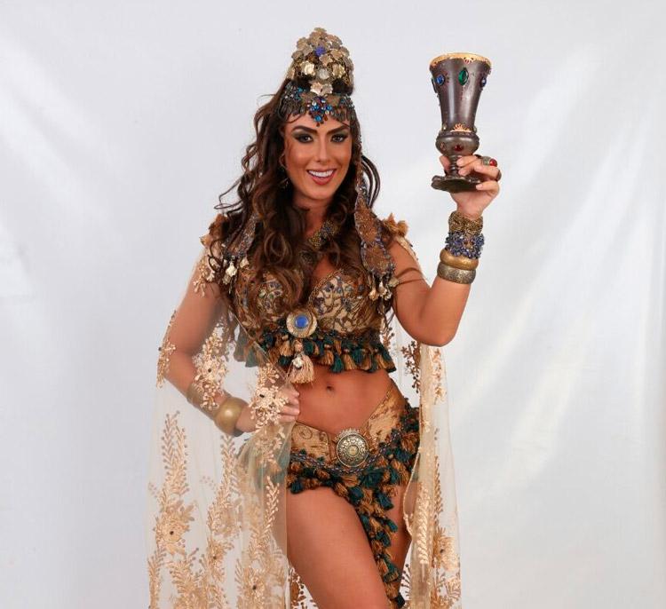 Nicole Bahls fará o papel de Herodíades na Paixão de Cristo de Nova Jerusalém - Fotos: João Tavares