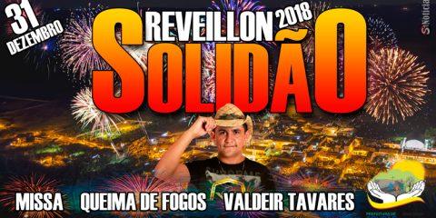 Reveillon 2018 em Solidão – Foto: João Santos/ S1 Notícias