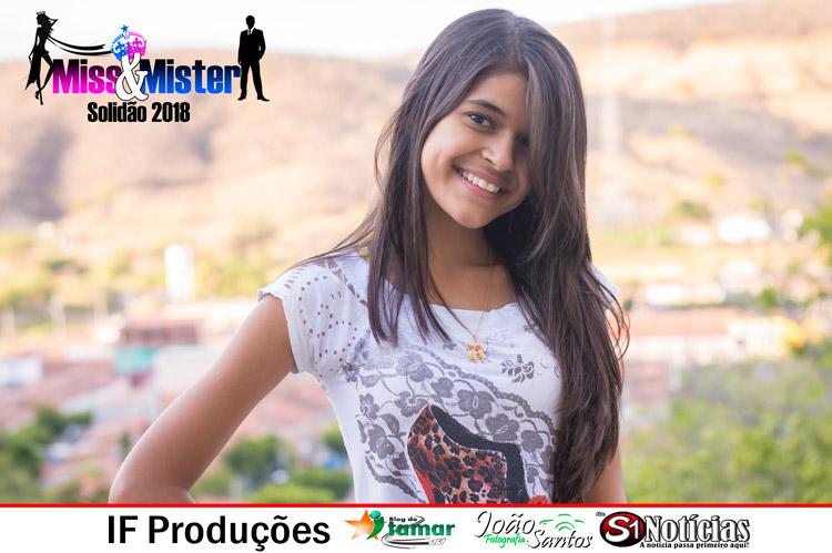Anne Karine candidata a Miss e Mister Solidão 2018