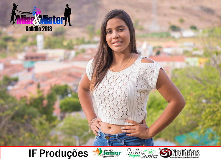 Arielly monyke candidata a Miss e Mister Solidão 2018