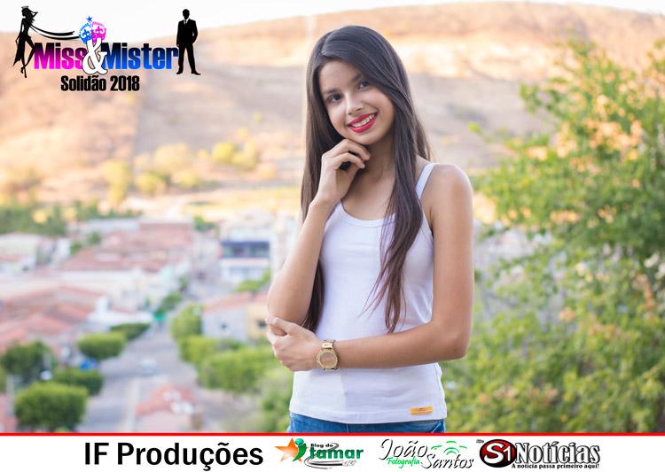 Brhenda Lima candidata a Miss e Mister Solidão 2018
