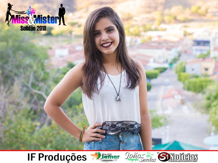 Eduarda Oliveira, candidata a Miss e Mister Solidão 2018