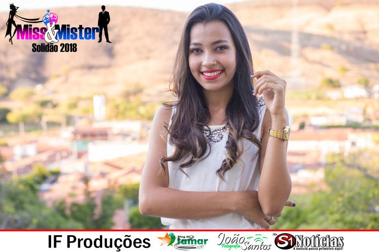 Larissa Martins candidata a Miss e Mister Solidão 2018