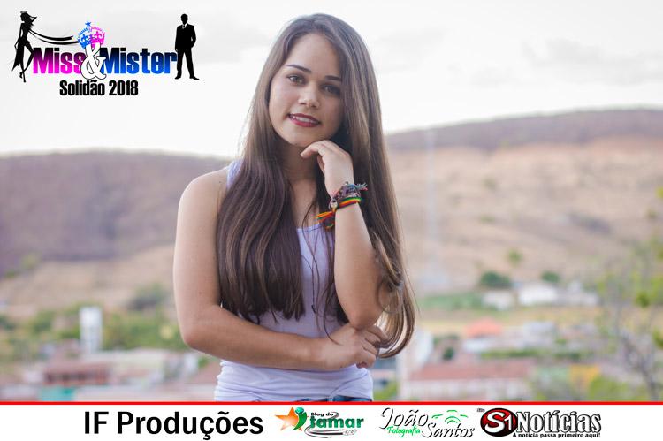 Maria Cristina candidata a Miss e Mister Solidão 2018