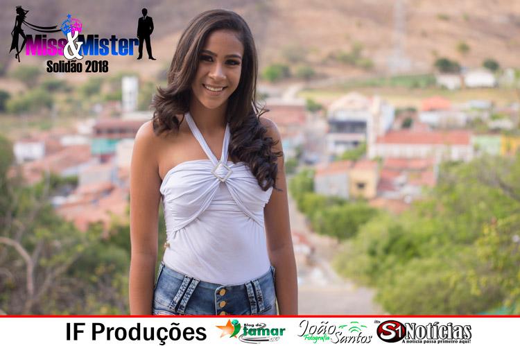 Maria Laura candidata a Miss e Mister Solidão 2018