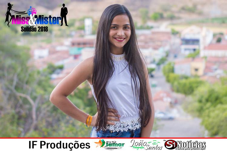 Maria Mércia candidata a Miss e Mister Solidão 2018