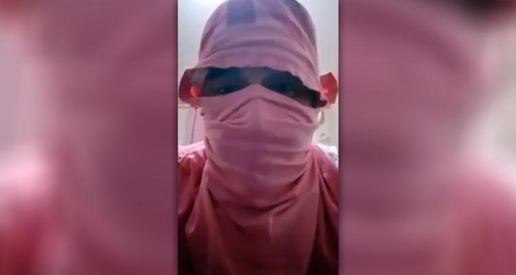 Imagem do vídeo em protestar contra a Compesa – Foto: Reprodução