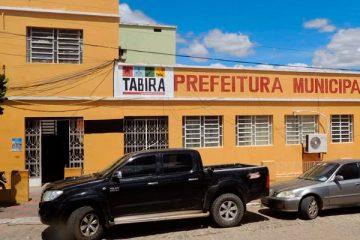 Prédio da Prefeitura Municipal de Tabira tem energia corta – Foto: Reprodução
