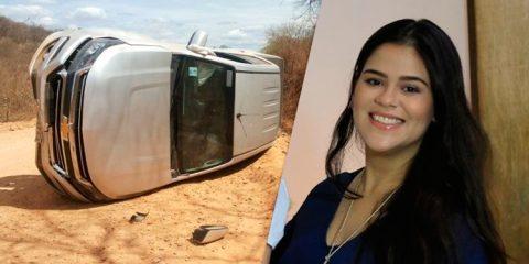 Primeira-dama de Patos sofre acidente