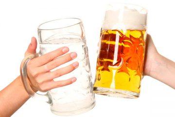 Se beber quatro latas, beba 400 ml de água – Foto: Reprodução