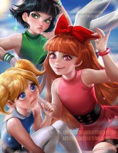 Meninas Superpoderosas - Por Sakimi Chan