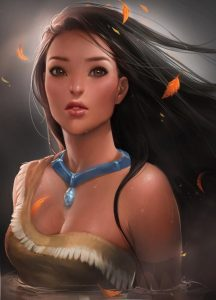 Pocahontas - Por Sakimi Chan