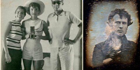 Fotos antigas provam que a selfie não tão moderno quando você pensava