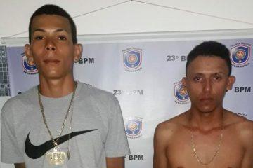 Um dos meliantes foi localizado e detido em frente à sua casa. O outro bandido confessou informando que adentrou na 'Lotérica' armado e anunciou o roubo.