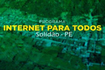 Programa Internet para Todos chega a Solidão – Foto: Reprodução/ S1 Notícias