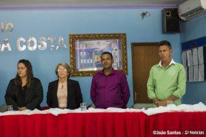 Wilson durante a entrega do título de cidadão solidanense