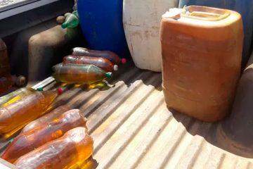 Idosa é acusada de comercialização ilegal de combustíveis em Brejinho