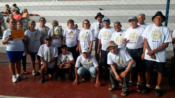 Jogos Municipais da Terceira Idade em Afogados da Ingazeira - Divulgação