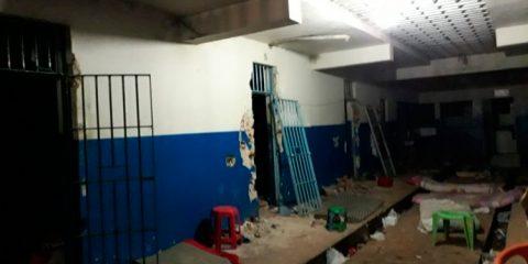 Rebelião na Cadeia Pública de Serra Talhada – Foto: Reprodução
