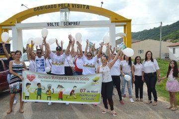 Solidão promoveu a Caminhada da Saúde 2018