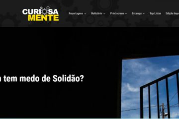 Solidão é destaque em site de curiosidades